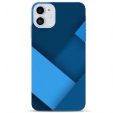 """Iphone 11 TPU dėklas unikaliu dizainu 1.0 mm """"u-case Airskin Blue design"""""""