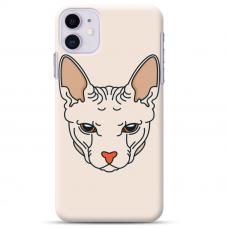 """Iphone 11 TPU dėklas unikaliu dizainu 1.0 mm """"u-case Airskin Kato design"""""""