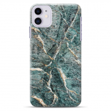 """Iphone 11 TPU dėklas unikaliu dizainu 1.0 mm """"u-case Airskin Marble 1 design"""""""