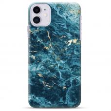 """Iphone 11 TPU dėklas unikaliu dizainu 1.0 mm """"u-case Airskin Marble 2 design"""""""