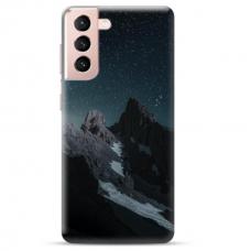 "Samsung Galaxy S21 Plus TPU dėklas unikaliu dizainu 1.0 mm ""u-case Airskin Mountains 1 design"""