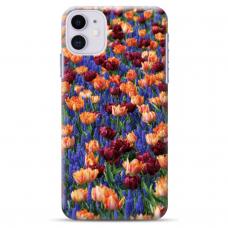 """Iphone 12 Mini TPU dėklas unikaliu dizainu 1.0 mm """"u-case Airskin Nature 2 design"""""""