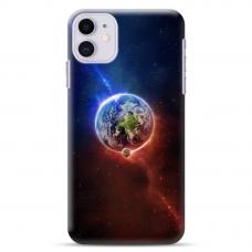 """Iphone 11 TPU dėklas unikaliu dizainu 1.0 mm """"u-case Airskin Nature 4 design"""""""