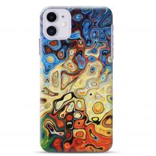 """Iphone 11 TPU dėklas unikaliu dizainu 1.0 mm """"u-case Airskin Pattern 1 design"""""""