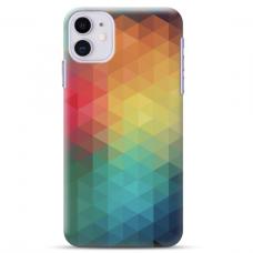 """Iphone 11 TPU dėklas unikaliu dizainu 1.0 mm """"u-case Airskin Pattern 3 design"""""""