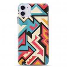 """Iphone 11 TPU dėklas unikaliu dizainu 1.0 mm """"u-case Airskin Pattern 7 design"""""""