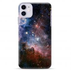 """Iphone 11 TPU dėklas unikaliu dizainu 1.0 mm """"u-case Airskin Space 2 design"""""""