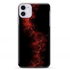 """Iphone 11 TPU dėklas unikaliu dizainu 1.0 mm """"u-case Airskin Space 3 design"""""""