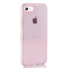 Iphone 7 / 8 / SE 2020 dėklas Window Case silikonas rožinis