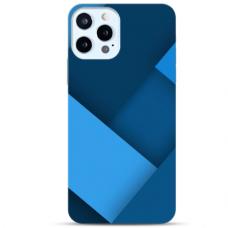 """Iphone 12/ 12 Pro TPU dėklas unikaliu dizainu 1.0 mm """"u-case Airskin Blue design"""""""