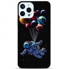 """Iphone 12/ 12 Pro TPU dėklas unikaliu dizainu 1.0 mm """"u-case Airskin Cosmo design"""""""