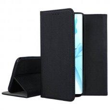 Iphone 13 atverčiamas dėklas Smart magnet juodas