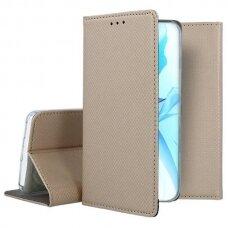 iphone 13 pro max atverčiamas dėklas Smart magnet auksinis