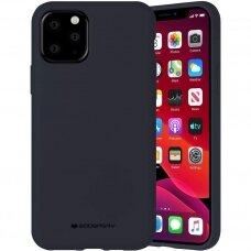 iphone 12 pro dėklas MERCURY SILICONE tamsiai mėlynas