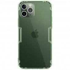iphone 12 pro max DĖKLAS NILLKIN NATURE 0.6MM TPU permatomas žalias