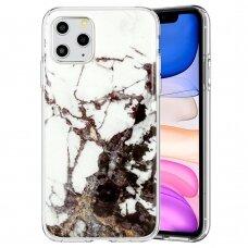 iphone 12 mini dėklas GLITTER MARBLE silikonas 2