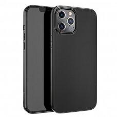 Iphone 12 pro max dėklas Hoco Pure Series Juodas