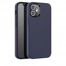 Iphone 12 pro max dėklas Hoco Pure Series tamsiai mėlynas