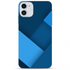 """Iphone 12 Mini TPU dėklas unikaliu dizainu 1.0 mm """"u-case Airskin Blue design"""""""