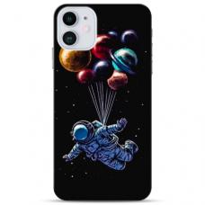 """Iphone 12 Mini TPU dėklas unikaliu dizainu 1.0 mm """"u-case Airskin Cosmo design"""""""