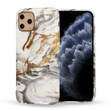 Iphone 12 pro max  dėklas Marble Silicone silikonas Dizainas 2
