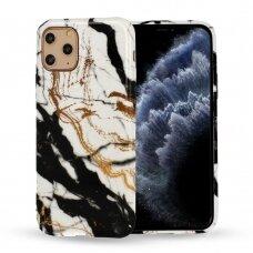 Iphone 12 pro max  dėklas Marble Silicone silikonas Dizainas 3