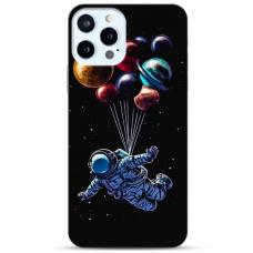 """Iphone 12 Pro max TPU dėklas unikaliu dizainu 1.0 mm """"u-case Airskin Cosmo design"""""""