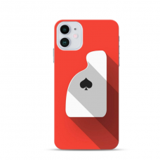 """Iphone 12 mini TPU dėklas unikaliu dizainu 1.0 mm """"u-case Airskin Ace design"""""""