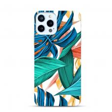 """Iphone 11 Pro max TPU dėklas unikaliu dizainu 1.0 mm """"u-case Airskin Leaves 1 design"""""""