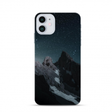 "Iphone 11 TPU dėklas unikaliu dizainu 1.0 mm ""u-case Airskin Mountains 1 design"""