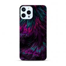 """Iphone 12 Pro max TPU dėklas unikaliu dizainu 1.0 mm """"u-case Airskin Feather design"""""""
