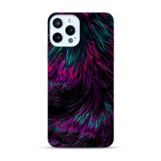 "Iphone 12 Pro TPU dėklas unikaliu dizainu 1.0 mm ""u-case Airskin Feather design"""