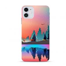 """Iphone 12 mini TPU dėklas unikaliu dizainu 1.0 mm """"u-case Airskin Nature 5 design"""""""