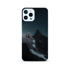 "Iphone 12 Pro TPU dėklas unikaliu dizainu 1.0 mm ""u-case Airskin Mountains 1 design"""