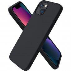 Iphone 13 mini dėklas Silicon Juodas