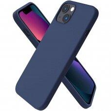 Iphone 13 mini dėklas Silicon Tamsiai mėlynas
