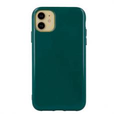 """iphone 13 Pro Dėklas """"Soft jelly case"""" tamsiai žalia"""