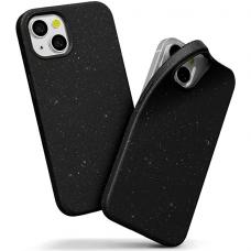 """iphone 13 mini Dėklas """"Soft jelly case""""  juodas"""