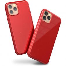 """iphone 13 pro max Dėklas """"Soft jelly case"""" raudonas"""