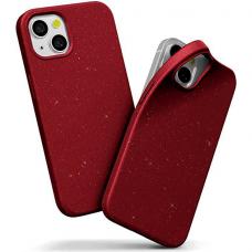 """iphone 13 mini Dėklas """"Soft jelly case"""" raudonas"""