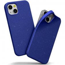 """iphone 13 Dėklas """"Soft jelly case""""  tamsiai mėlynas"""