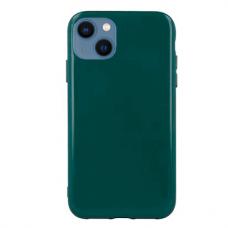 """iphone 13 mini Dėklas """"Soft jelly case"""" tamsiai žalia"""