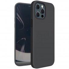 iphone 13 pro max dėklas TPU rubber juodas