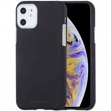 iphone 11 DĖKLAS MERCURY JELLY SOFT SILIKONINIS juodas