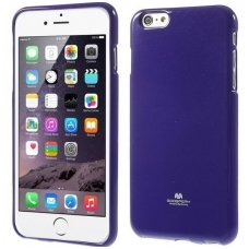 iphone 5/ 5S / SE DĖKLAS MERCURY JELLY CASE Silikoninis violetinis