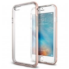 Iphone 6 / 6s Dėklas Select Metal Bumper + TPU rose gold