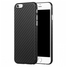 Iphone 6 Plus/ 6s Plus dėklas X-LEVEL CARBON ColorFiber  juodas