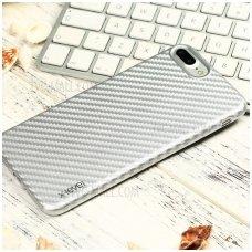 Iphone 6 Plus/ 6s Plus dėklas X-LEVEL CARBON ColorFiber pilkas