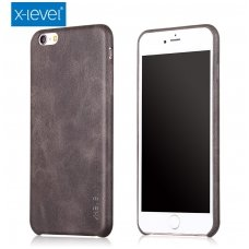 Iphone 6 plus / 6S plus DĖKLAS X-LEVEL VINTAGE rudas