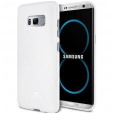 Samsung Galaxy S8 MERCURY JELLY CASE Silikoninis Baltas